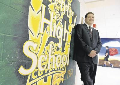 Coventry High School principal recognized