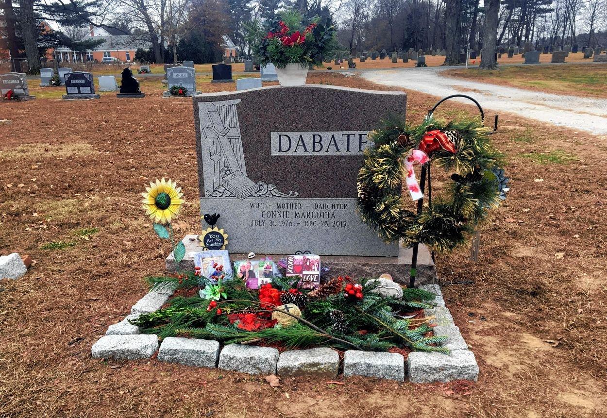 Connie Dabate's gravesite