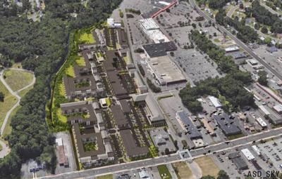 Conceptual rendering of Parkade development