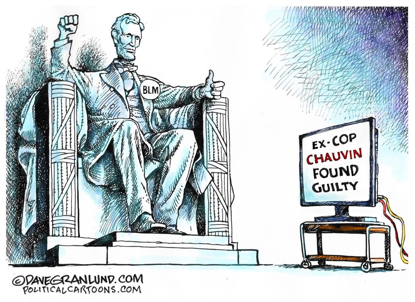 Political cartoons: The Derek Chauvin verdict
