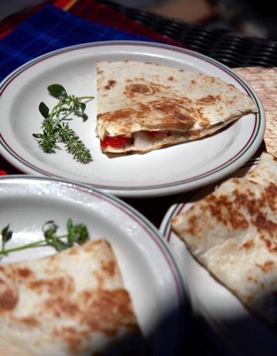 Herbed Quesadillas appetizers