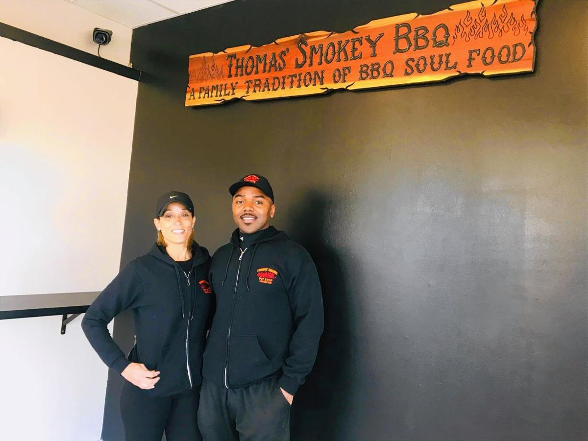 Owner of new BBQ restaurant in Manchester determined to succeed in tough time