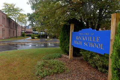 File Rockville High School sign