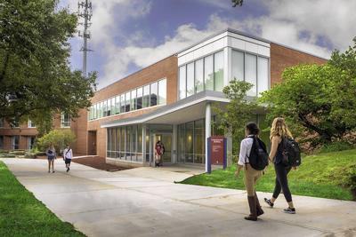 ECSU's new communications building