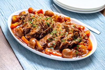 Try a pot roast for Rosh Hashanah!