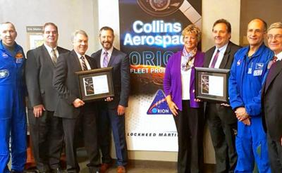 Collins, Lockheed sign contract for moon project