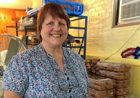 Conversation with: Priscilla Brayson, director of Loaves and Fishes soup kitchen in Enfield