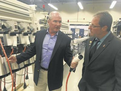 Enfield company builds EV chargers