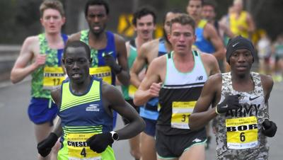 Cheserek hits top of MRR hill first