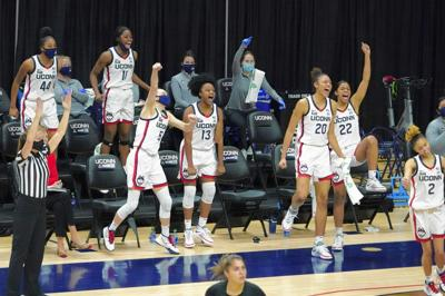 Huskies cheer on Chassion