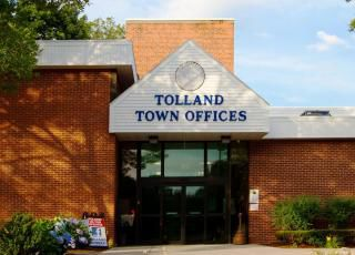 Tolland Town Hall closed