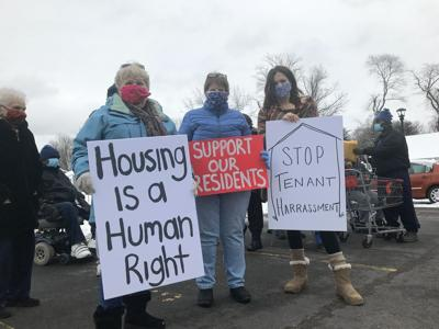 Windsor Housing Authority protest