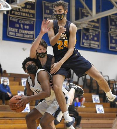 East Catholic routs RHAM in opener