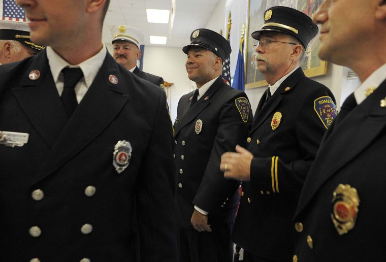 Somers Fire Department honors firefighters