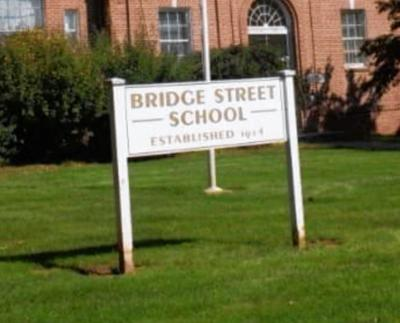 Bridge Street School sign