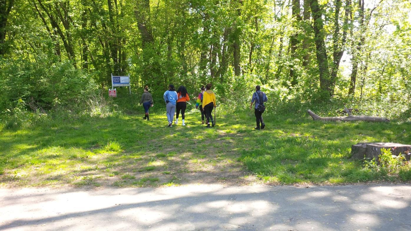 Searching Riverside Park in Hartford