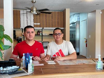 Jamil Mendieta and Galo Mendieta