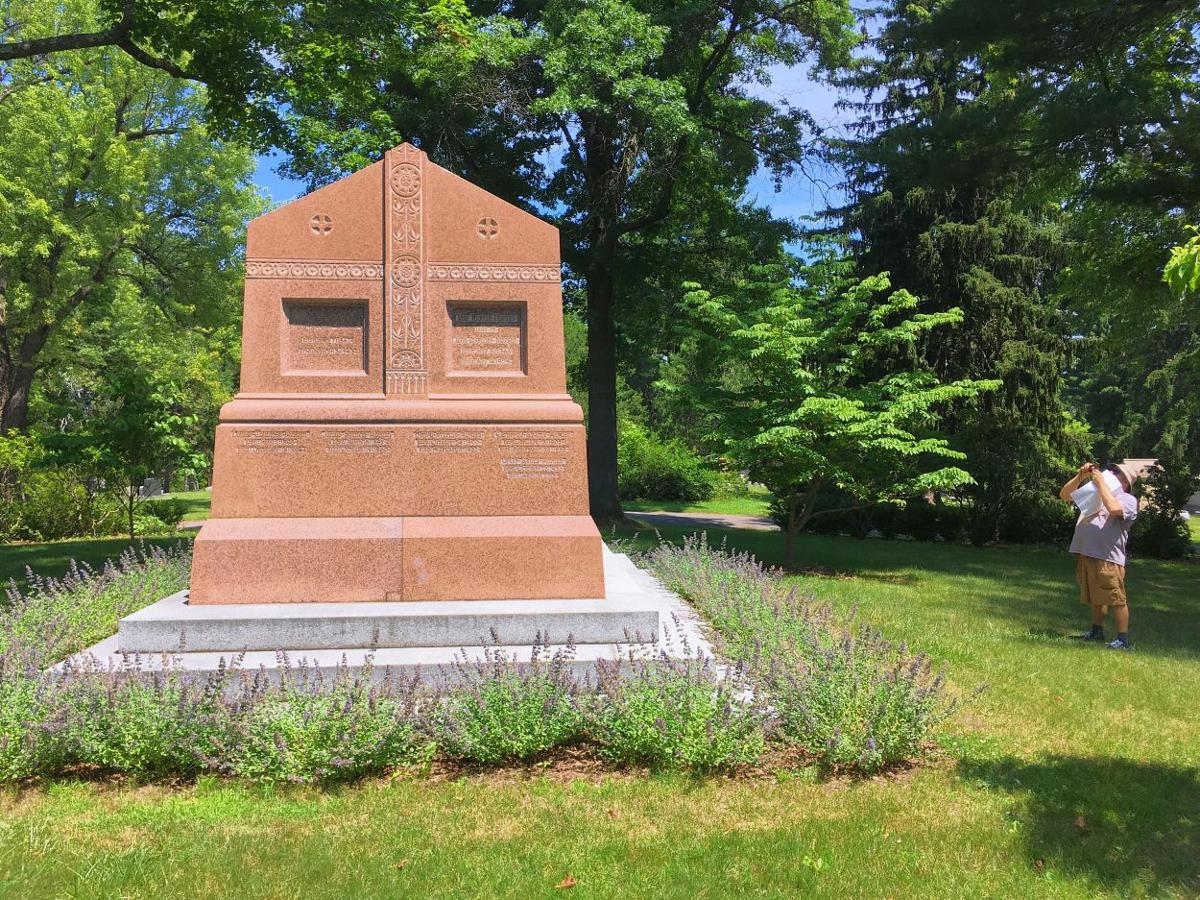 A final resting place for the famous and infamous; Katharine Hepburn, J.P. Morgan  top list of notable residents  at historic Hartford graveyard