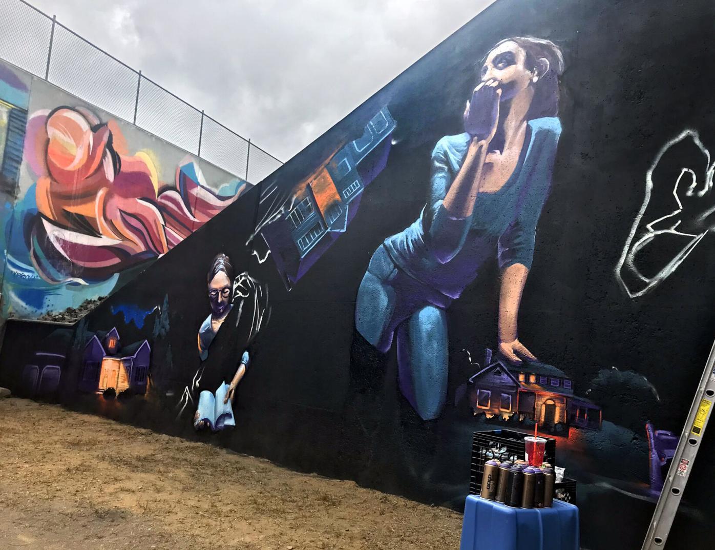 Vernon Rails-To-Trails Mural
