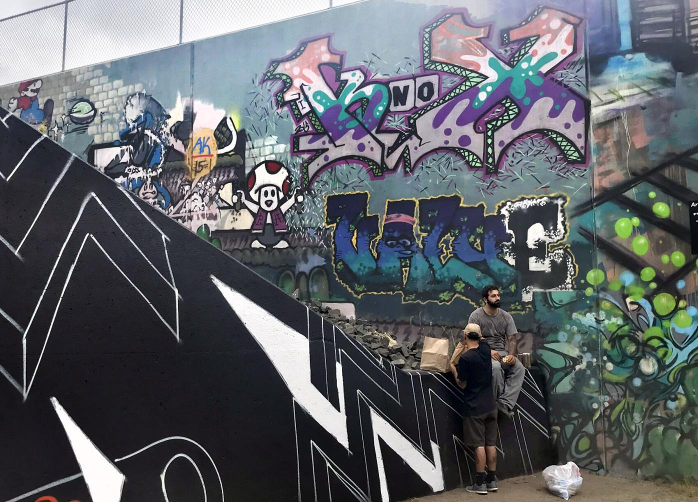 Vernon Rails-To-Trails Graffiti Mural