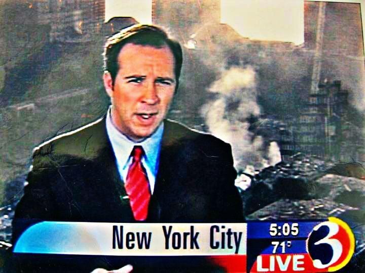 Dennis House at Ground Zero, 9/11/2001