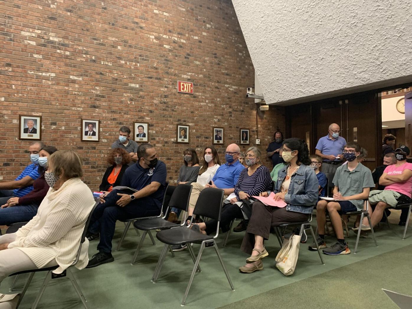 South Windsor mask mandate meeting