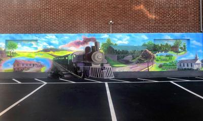 Andover mural