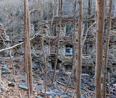 Cotton Hollow Mill ruins