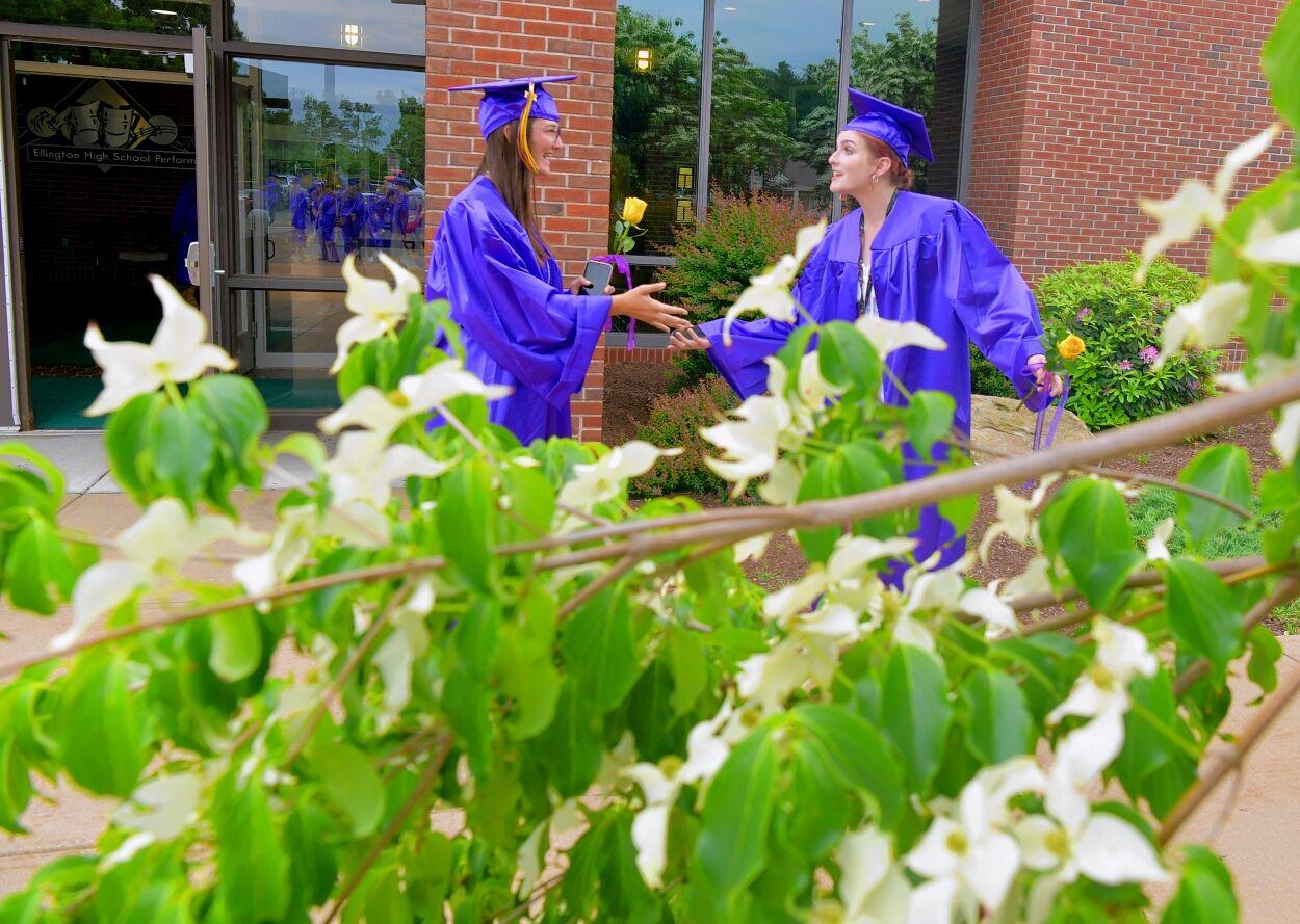 Ellington High School graduation