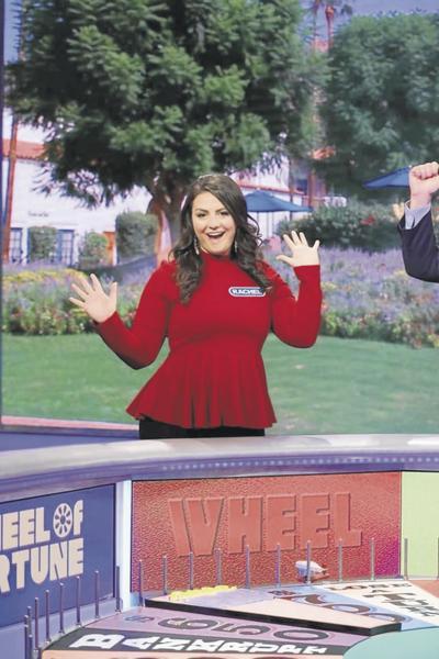 Glastonbury's Rachel Harrison wins big on 'Wheel of Fortune'