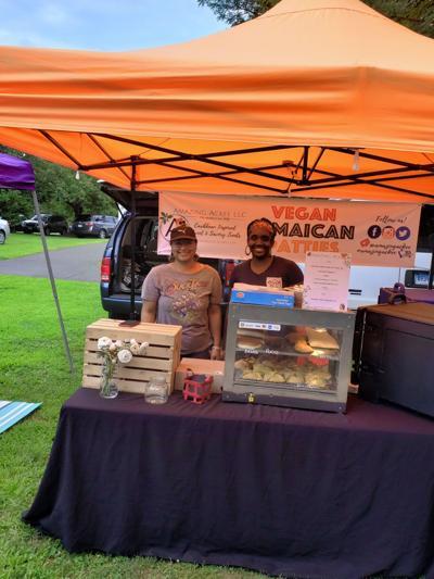 Meet the Vendors Baker combines vegan with Jamaican heritage to create unique food