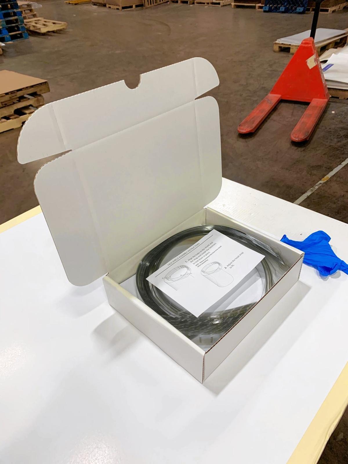 Face shield kits