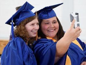 Selfie congratulations
