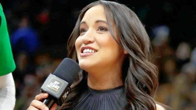 Celtics sideline reporter Abby Chin laid off