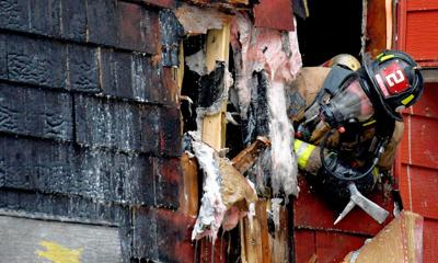 Fire  leaves home uninhabitable