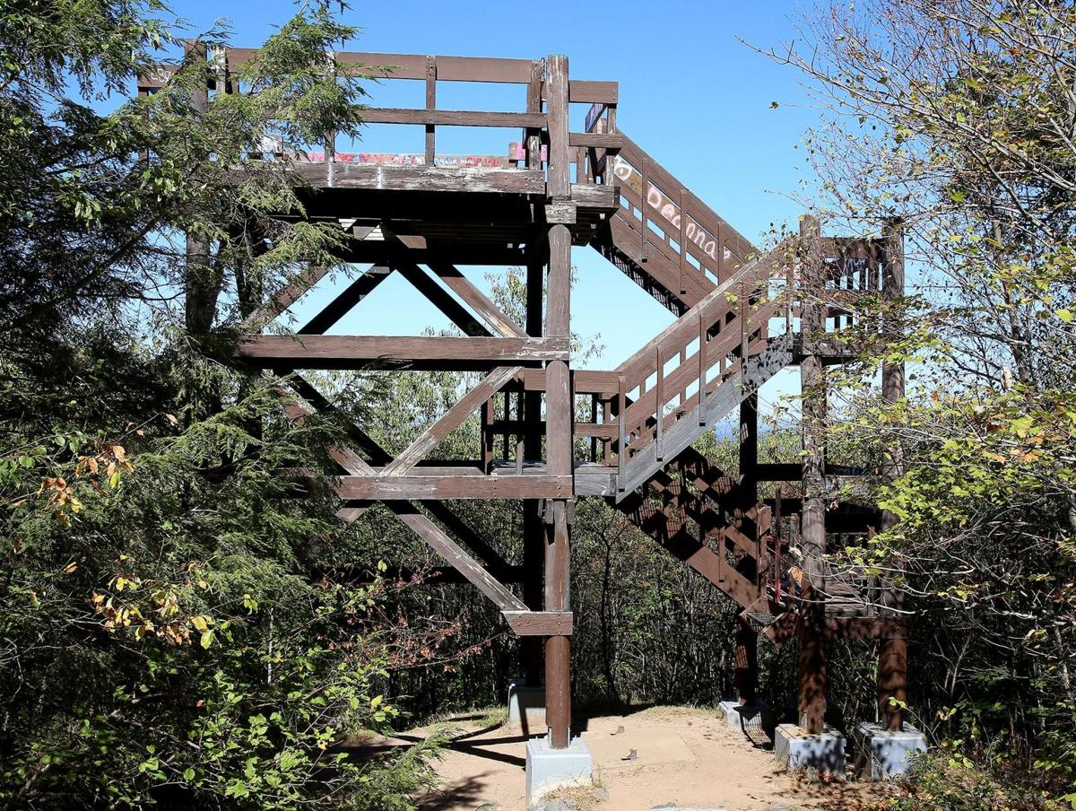 Farewell breathtaking views soapstone mountain lookout for Observation tower house plans