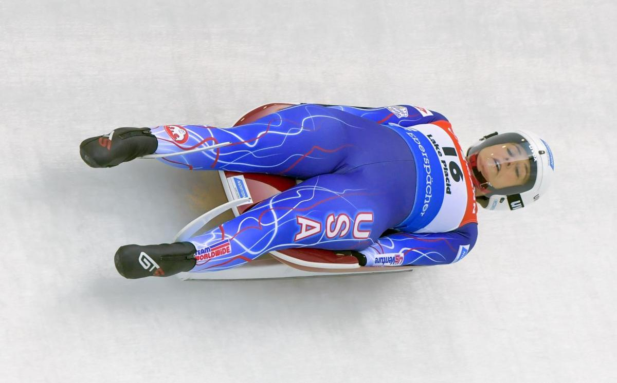 Sweeney takes 2 luge medals in Lake Placid