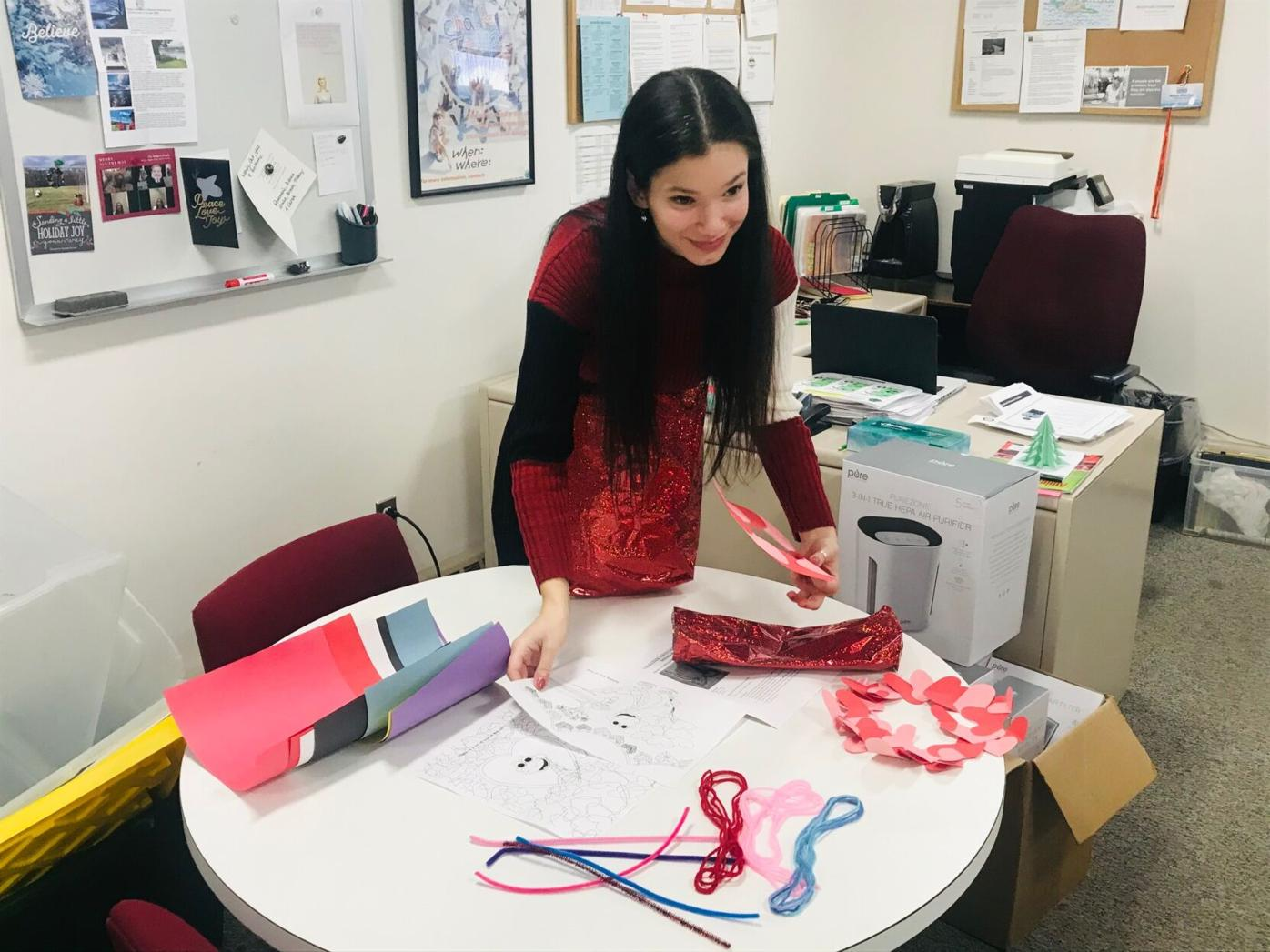 Yasmine Forte at work
