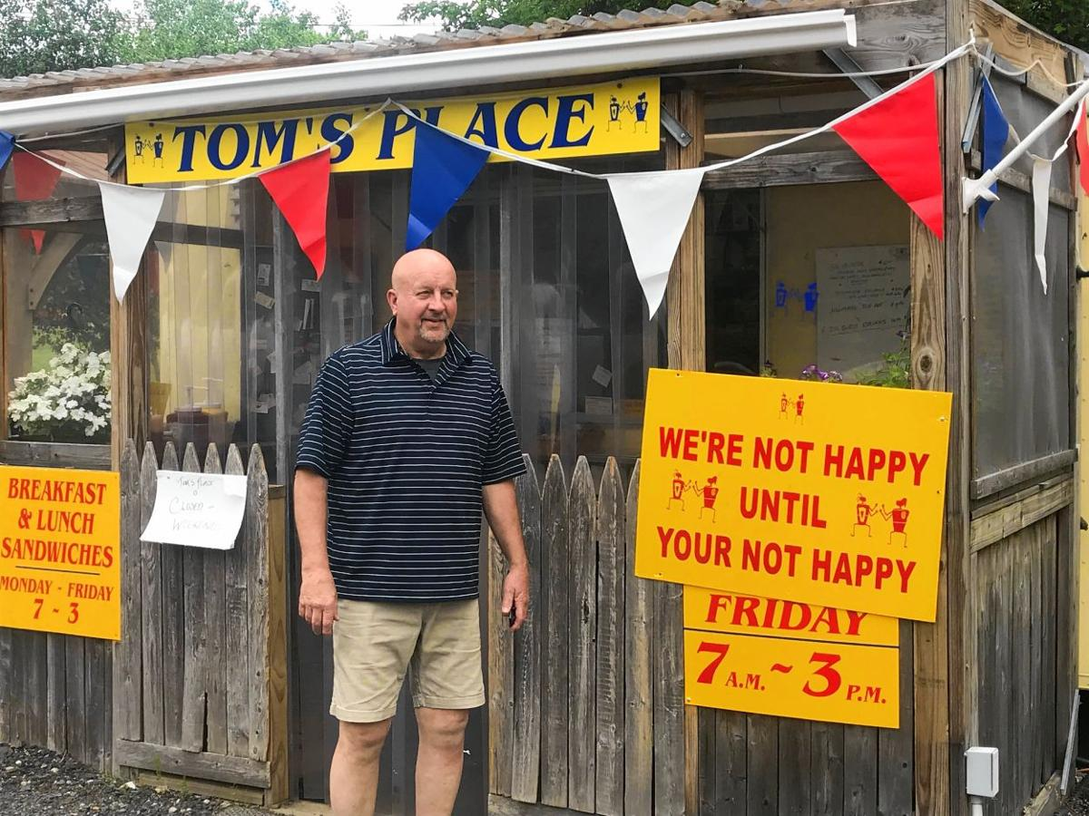 Tom's Place is a roadside one-man band with big, tasty menu