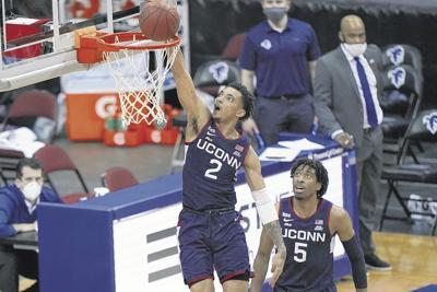 UConn Seton Hall Basketball