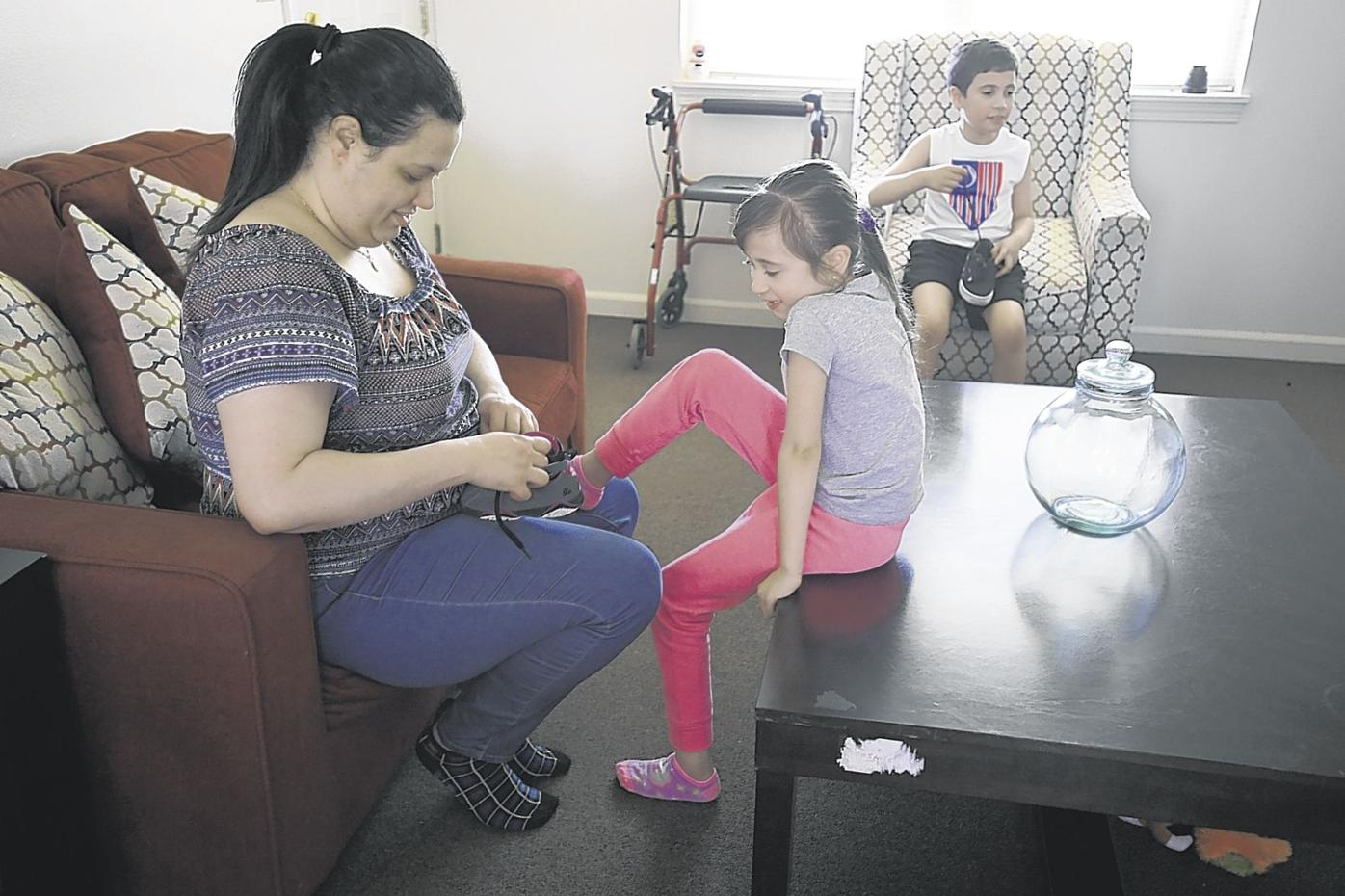 Displaced Fuentes family finds new home