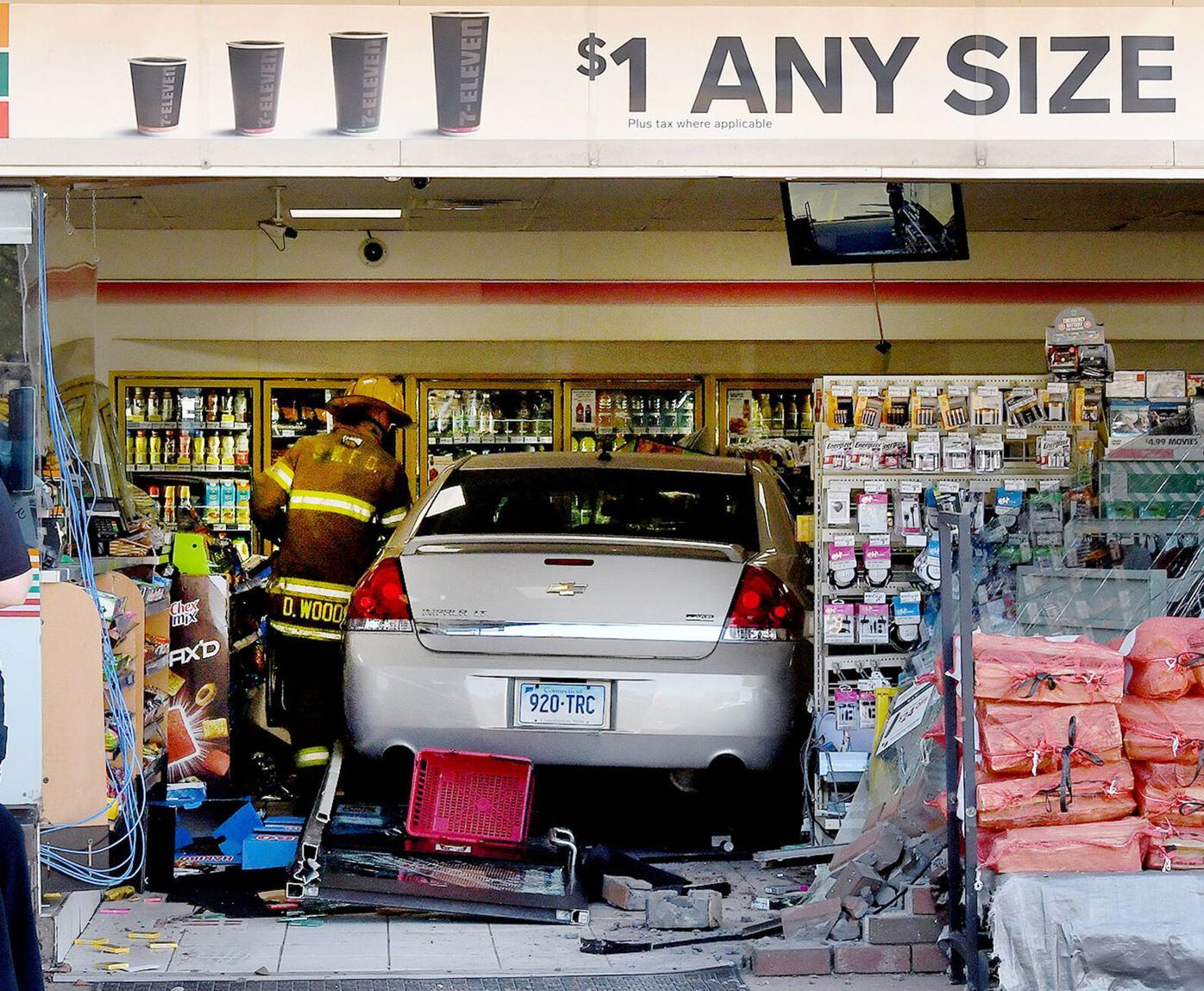 Car vs. store