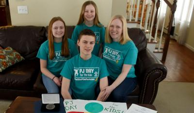 Coventry student gains recognition for creating 'PJ Day' to raise money for children's cancer research