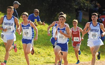 Tolland boys edge Suffield for Class M cross country title