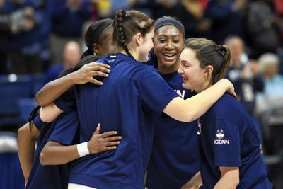Careers over Bent and fellow UConn seniors