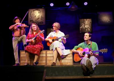 STAGE REVIEW: 'Woody Sez' is entertaining look at folk singer's life and music
