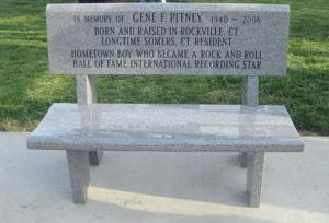 A Lasting Tribute Committee Dedicates Bench To Rock N