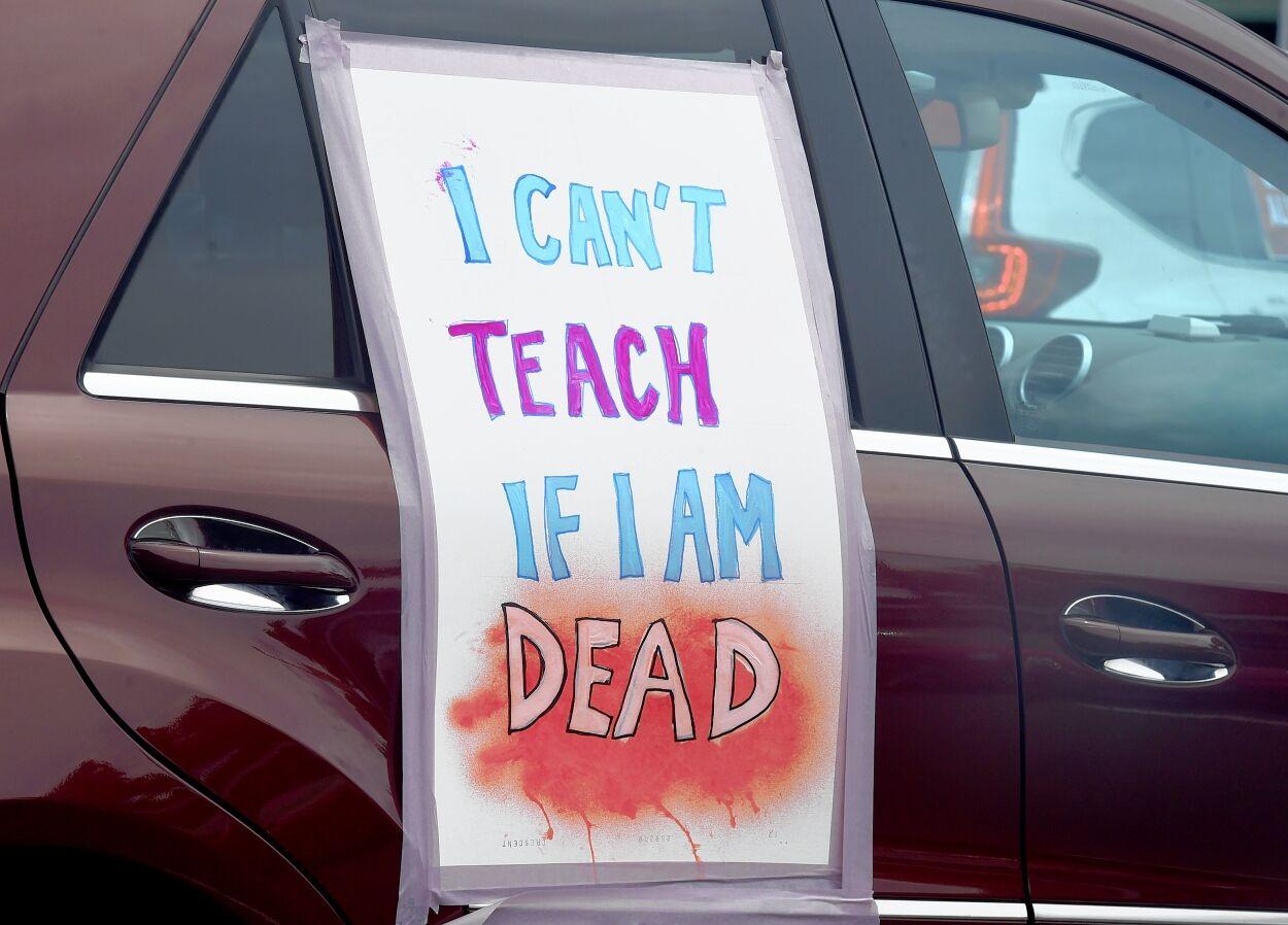 Teachers rally 2