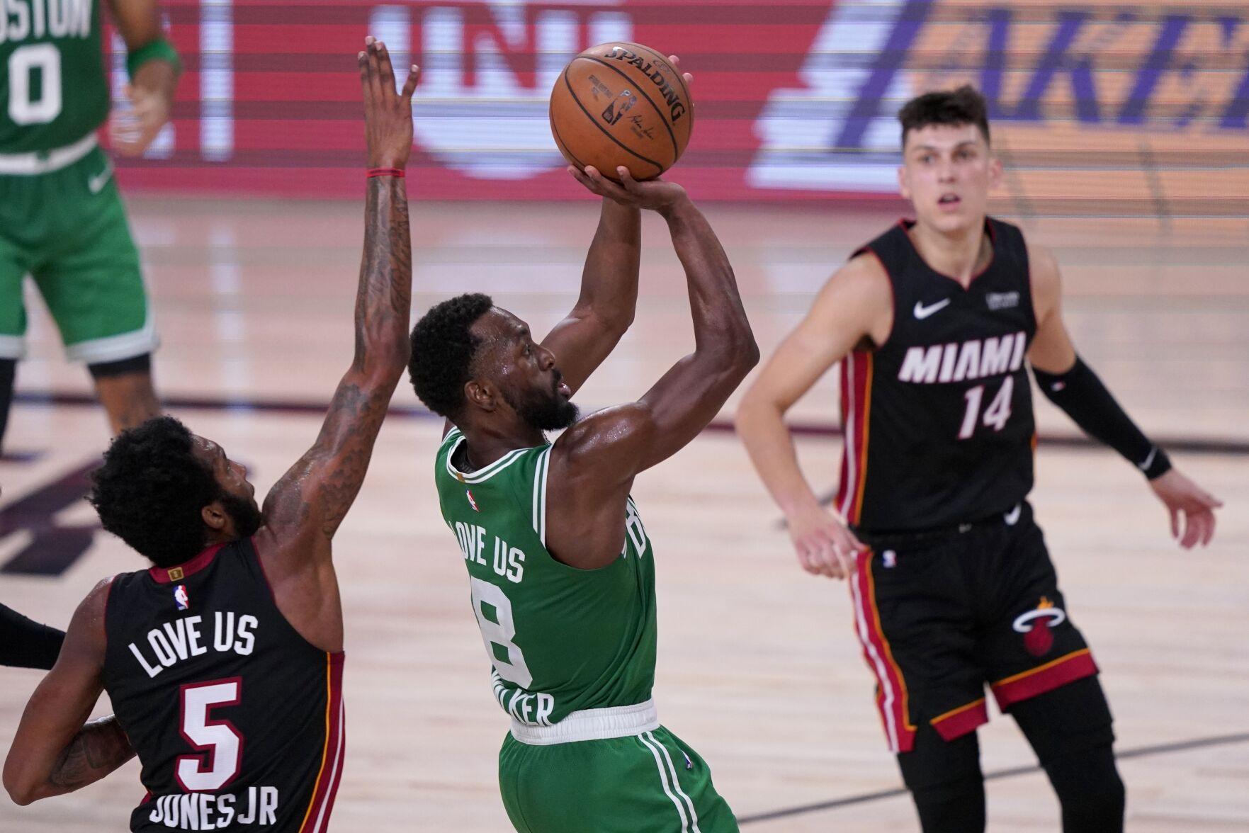 journalinquirer.com - Mark J. Terrill - Celtics Heat Basketball