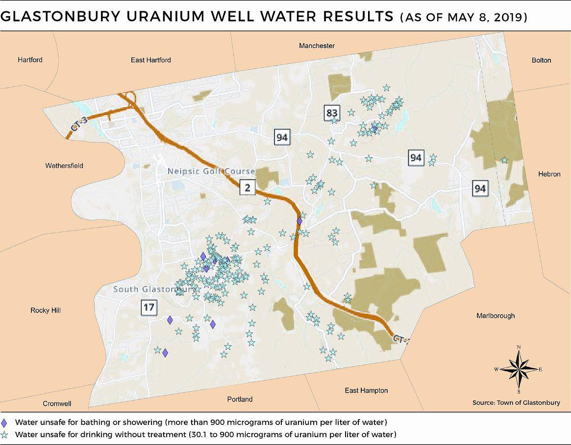 Glastonbury uranium